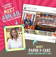 Vendor Feature: Meet Abigail Barnes of Paper and Cake