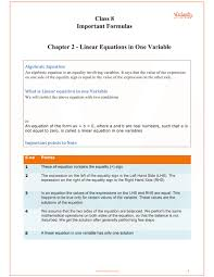 cbse class 8 maths chapter 2 linear