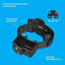 Premier Pet Wireless Fence Portable 1 2 Acre Coverage Walmart Com Walmart Com
