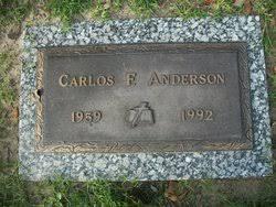Carlos Fernando Anderson (1959-1992) - Find A Grave Memorial