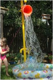 backyard sprinkler park backyard
