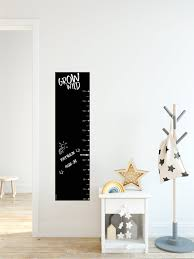 Chalkboard Growth Chart Growth Chart For Kids Grow Wild Etsy