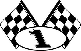 Amazon Com Checkered Flag Racing Number 1 Graphic Car Truck Window Decal Sticker Die Cut Vinyl Decal For Windows Cars Trucks Tool Boxes Laptops Macbook Virtually Any Hard Smooth Surface Arts