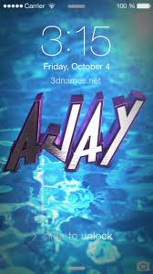 preview of water 2016 for name ajay
