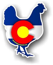 Colorado Chicken Vinyl Decal Heritage Acres Market Llc