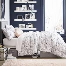 marble microfiber pintuck comforter