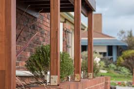 Keeping Rot Away From Timber Posts Softwoods Pergola Decking Fencing Carports Roofing