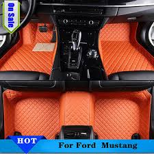 set car floor mats for ford mustang