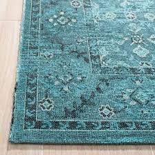 verne area rug turquoise cream 5