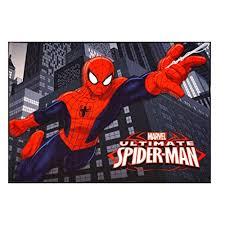Gertmenian 31003 Marvel Ultimate Spiderman Rug Hd Digital Kids Bedding Room Decor Area Throw Rugs 40 X54 Multi Color Wish