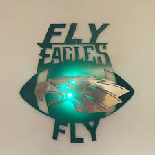 philadelphia eagles 2d wall art with