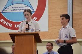 Abby Adams and Grady Watt at Mundubbera State School. Picture ...
