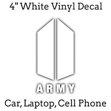 4 White Bts Army Bangtang Boys K Pop Kpop Laptop Cell
