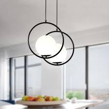modern simple ceiling chandelier globe