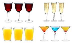 argon tableware plastic glasses groupon