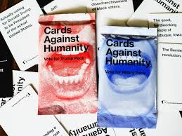 cards against humanity release hillary