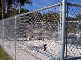 Chain Link Fence Hot Dipped Galvanized
