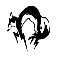 Metal Gear Solid Fox Mgs Vinyl Decal Sticker