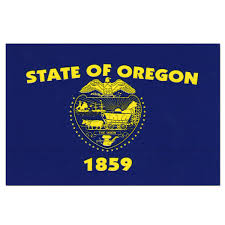 Oregon Flag Decal
