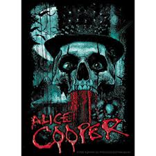 Alice Cooper Bloody Skull Sticker Orignal Artwork Vinyl Decal Sticker 3 625 X 5 Walmart Com Walmart Com