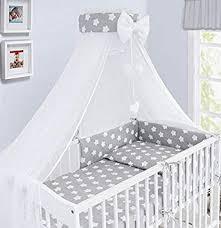 luxury 10pcs baby bedding set cot bed