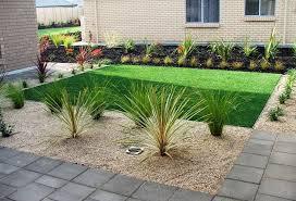 front garden landscaping photograph