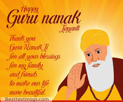guru nanak jayanti day wishes images quotes sms greetings status