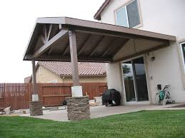 how to build a gable roof patio cover