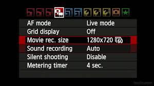 dslr tutorial setting up slow motion
