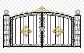 Window Gate Door Steel Wrought Iron Png 981x615px Window Aluminium Door Facade Fence Download Free