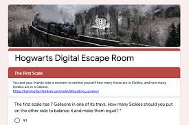 Digital Escape Rooms And Other Online Programming American Libraries Magazine