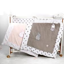 velvet baby crib bedding comforter with
