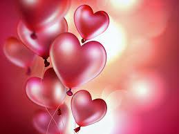 heart shaped balloons 4k ultra hd