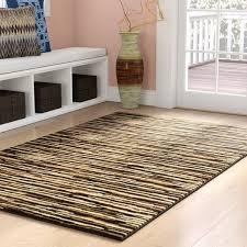 saylorsburg modern brown area rug