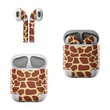 Apple Airpods Skin Giraffe By Animal Prints Decalgirl
