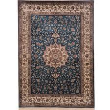 yilong 84x122cm blue persian rugs