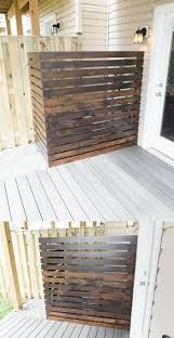 Hide An Ac Unit Diy Screen To Hide An Ac Unit In The Backyard Air Conditioner Cover Outdoor Diy Exterior Hvac Cover