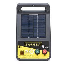 Zareba 5 Mile Solar Low Impedance Electric Fence Charger Walmart Com Walmart Com