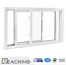 pvc window plastic sliding window gl