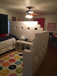 Modular Dividing Walls And Spaces Everblock Kids Room Divider Room Divider Ideas Bedroom Kids Shared Bedroom
