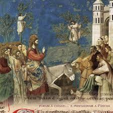 Resultado de imagem para domingo de ramos jesus entrando em jerusalem - no vaticano