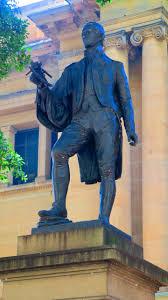 matthew flinders statue sydney 2020