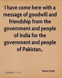 natwar singh friendship quotes quotehd