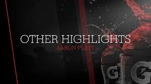 """Aaron Platt's (New Braunfels, TX) Video """"Aaron Platt's highlights ..."""