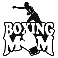 Boxing Mom Decal Sticker