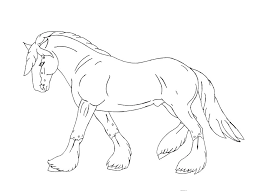 Leuke Kleurplaten Paarden