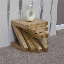 homestyle z designer solid oak nest of