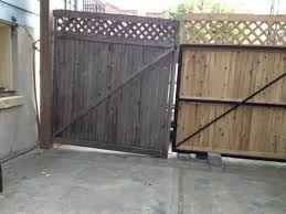 Dura Gate 12 Ft Double Fence Gate Frame Kit 007 1403 The Home Depot Fence Gate Gate Kit Wood Gate