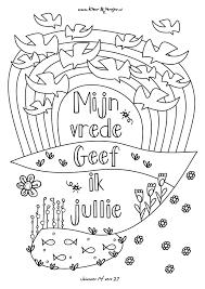013 Bijbel Kleurplaten Knutselen Christelijk Pasen En