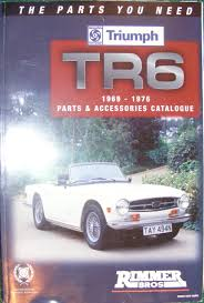 triumph tr6 1969 1976 parts